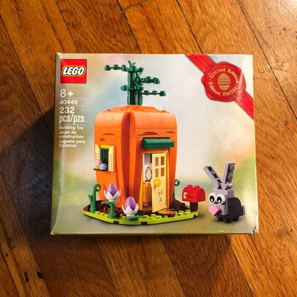 NIB LEGO Set 40449 Easter Bunny & Carrot House